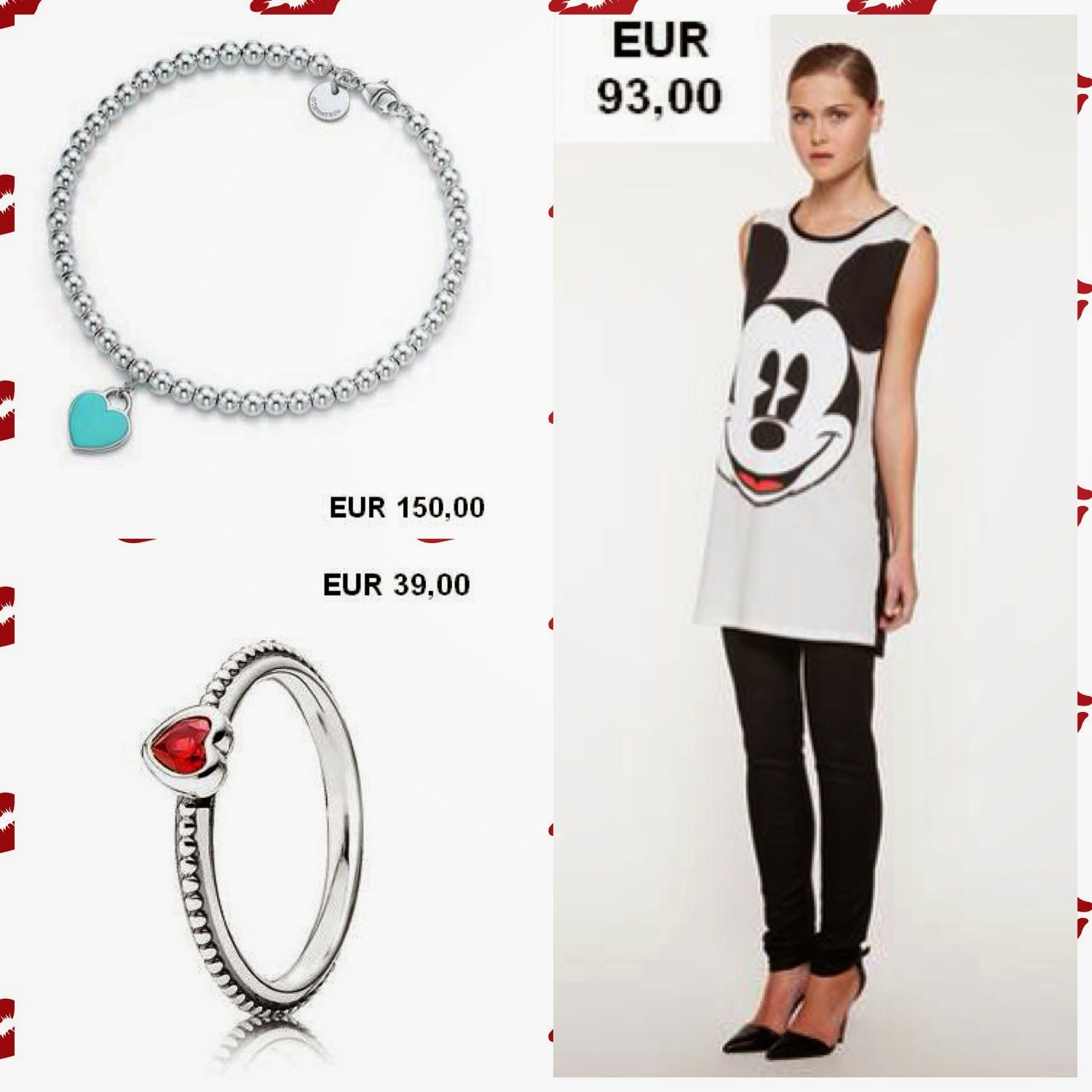 A bracelet, a ring or a Micky Mouse tee...