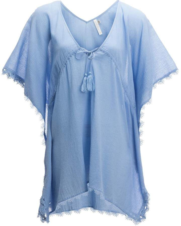 ff2ac4d81a Seafolly Crochet Trim Kaftan Cover Up - Women's | Products ...