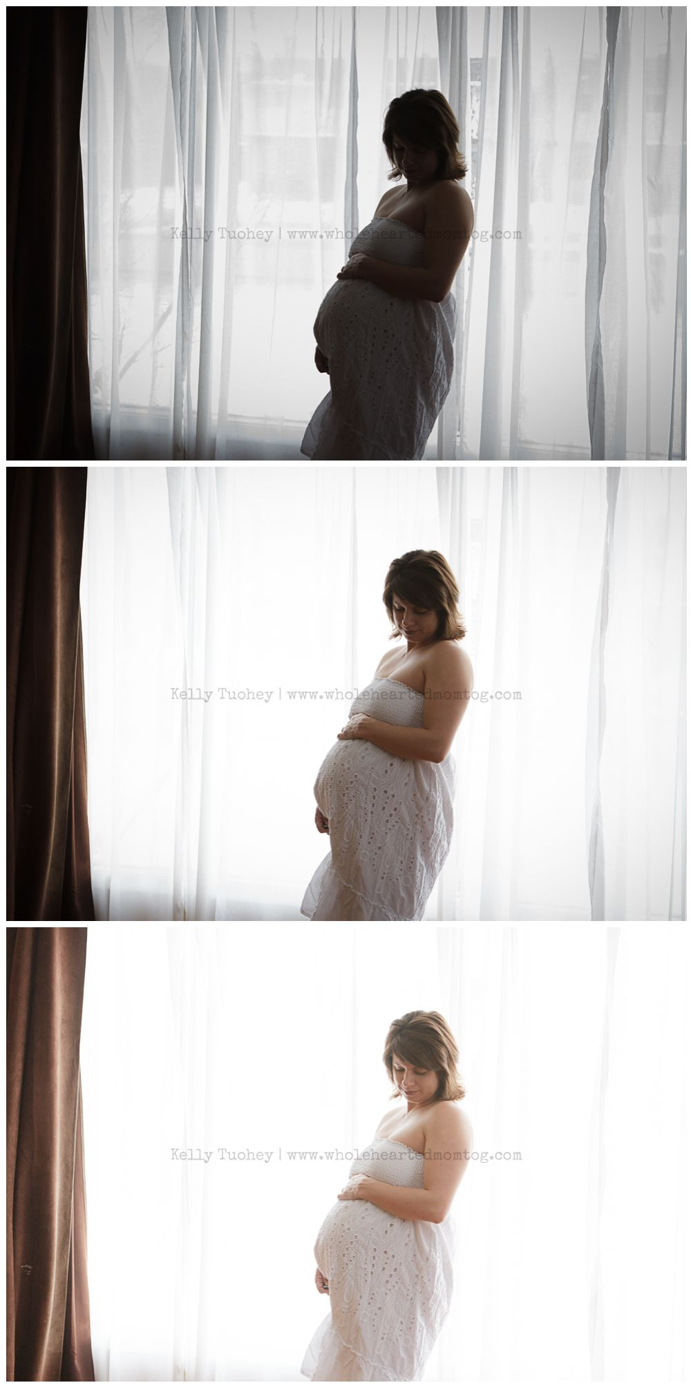 how to use natural light to get a glowing white background. this site has awesome photo takin' advice