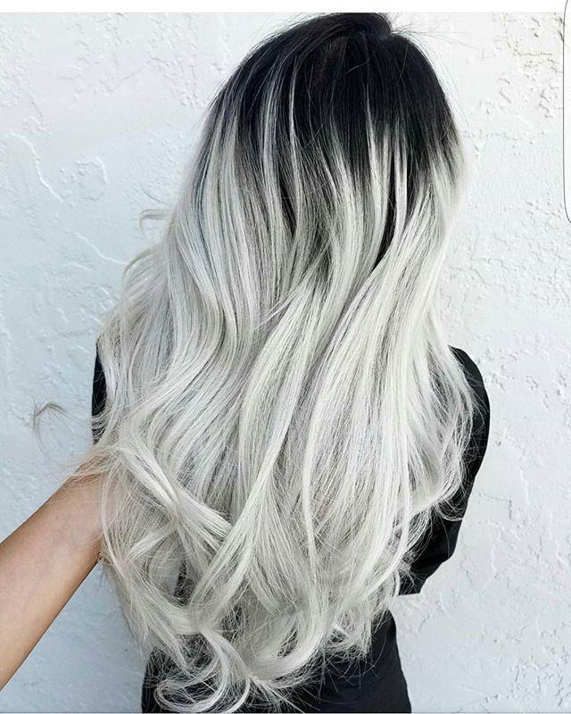 Instagram Analytics | Bleach Blonde Hair w/Dark Roots 4 | Hair, Hair ...