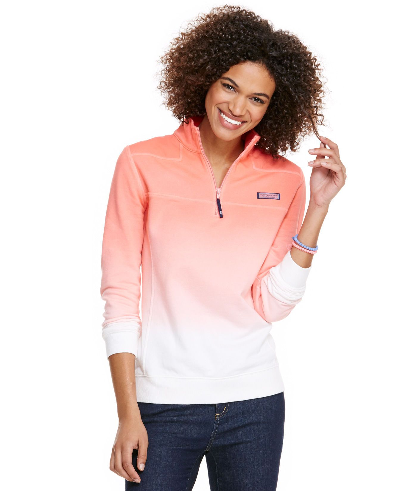 d9a02e3e356aa Shop Ombre Dyed Shep Shirt at vineyard vines