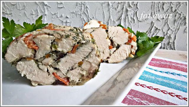 Ewa w kuchni: Drobiowa mozaika z warzywami