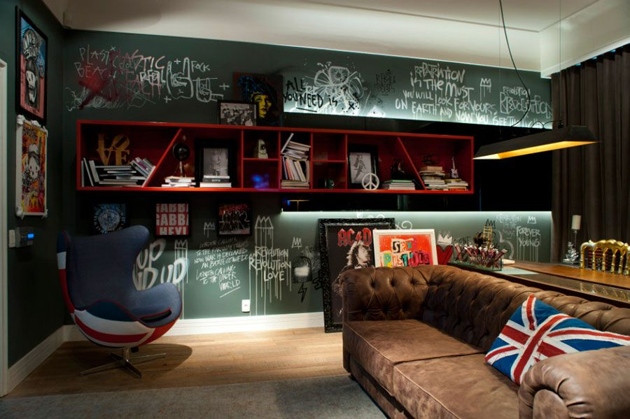 Rock N Roll Home Design Part - 50: Rock And Roll Den