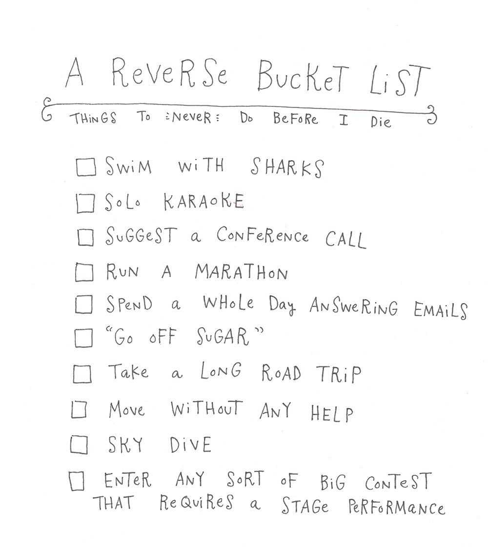 A Reverse Bucket List Funny Dating Quotes Bucket List