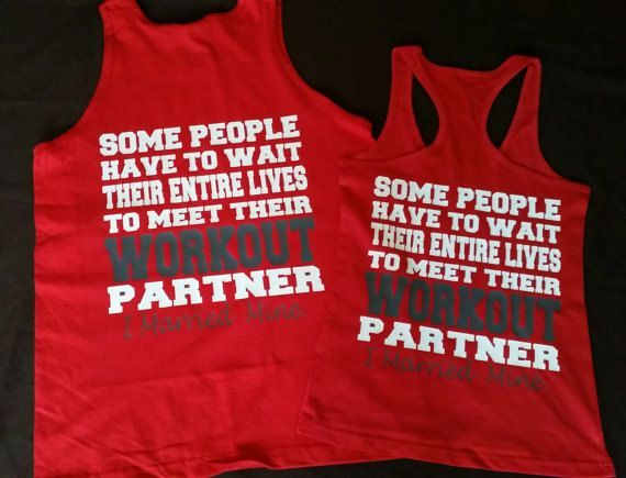 His And Hers Workout Shirts Swole Mates Couples Workout Shirts Mens