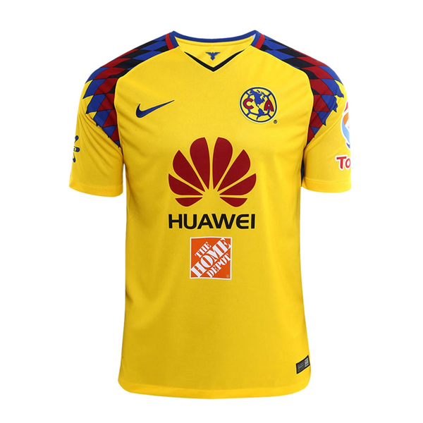 3ad9622adcb Nike Youth Club America Third Jersey 17/18 (Yellow/Varsity Royal)