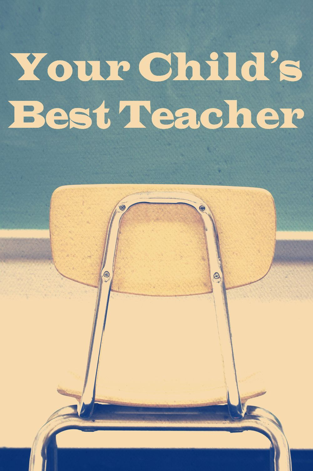Your child's best teacher is you! Great thoughts written by a teacher.