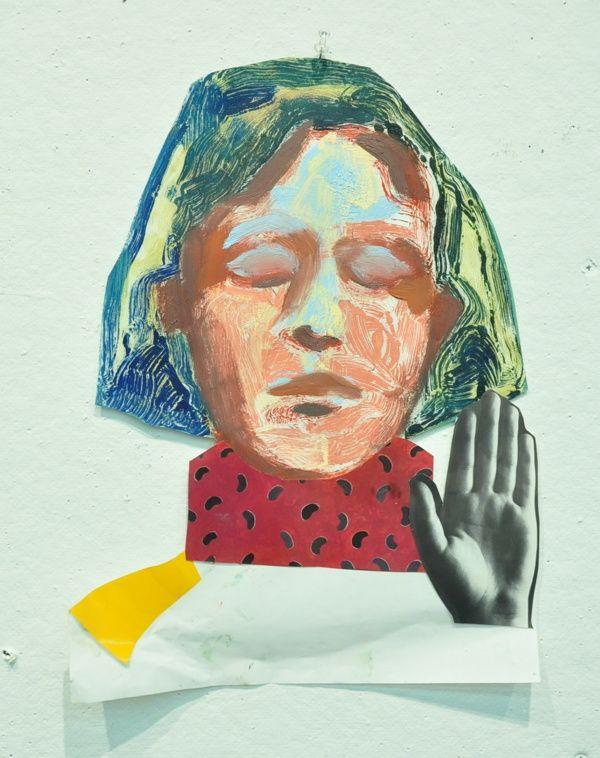 #Monotype self-portraits on the RISD Portfolios