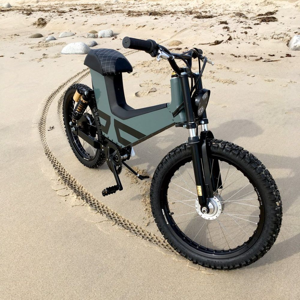 Suru Scrambler Is Equal Parts Electric Motorcycle Electric