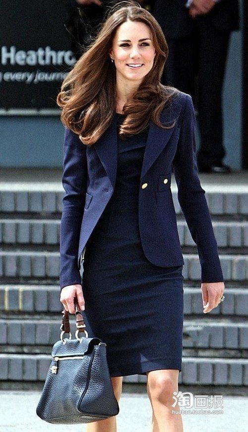 Kate Middleton Is Navy Obsessed And So Are We Check Out Her