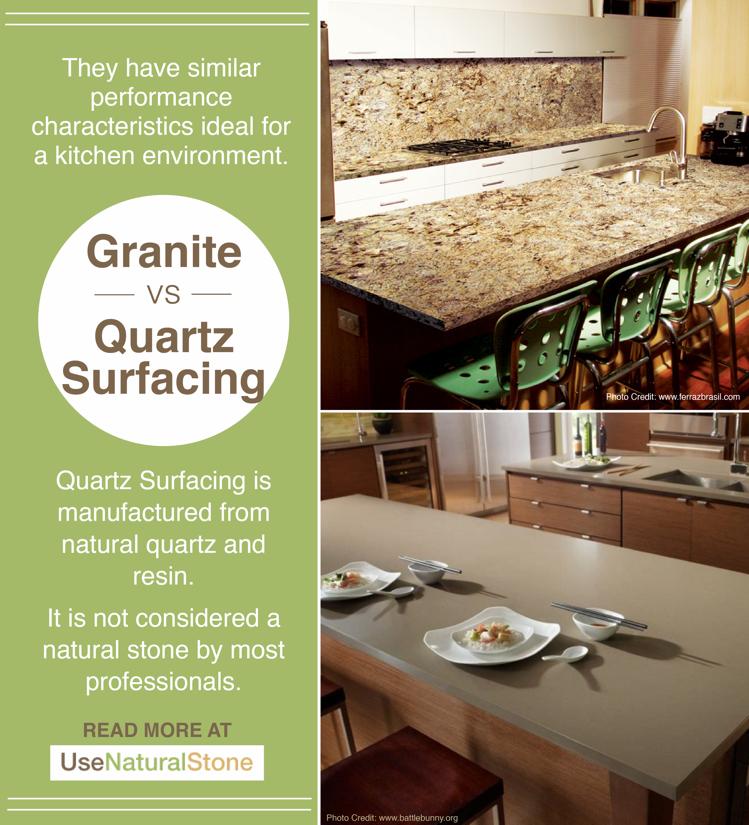 Granite Vs Quartz Surface Countertops Countertops Quartz Vs