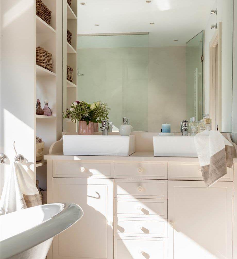 A medida y a todo detalle ba os ba os muebles para for Muebles de bano modernos pequenos