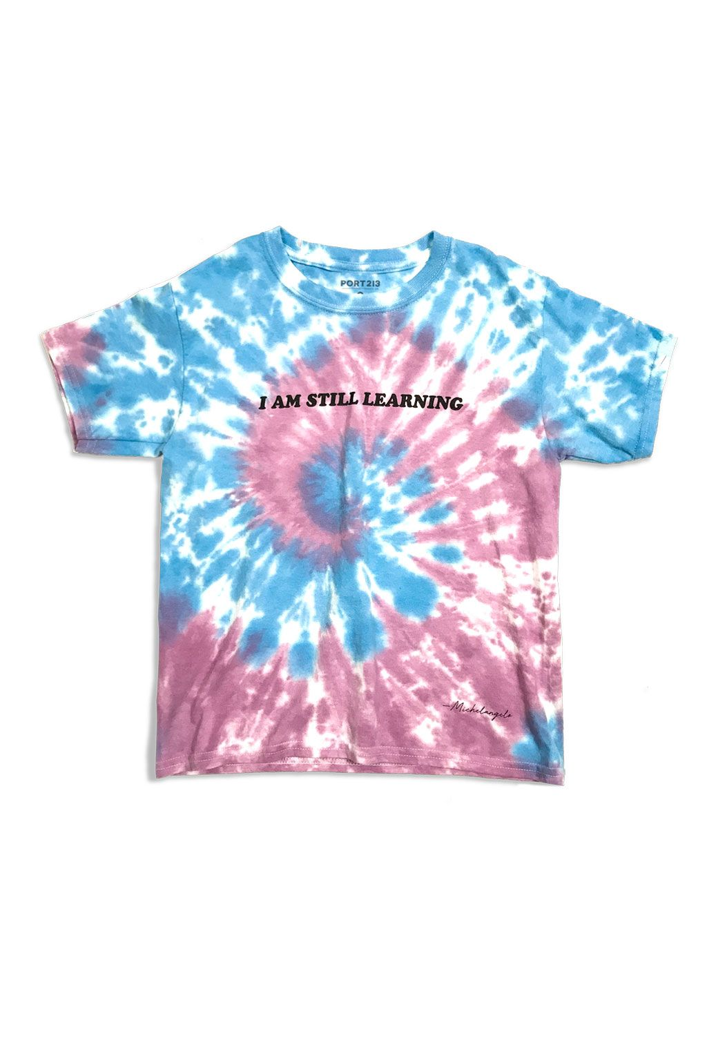 76f5c9122da02 Blue & Pink Tie-Dye T-Shirt | Port 213 kids streetwear fashion | Dye ...
