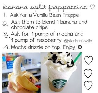 Secret starbucks recipe