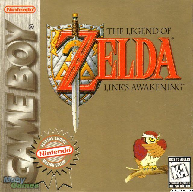 Link S Awakening Cover Of Zelda Link S Awakening
