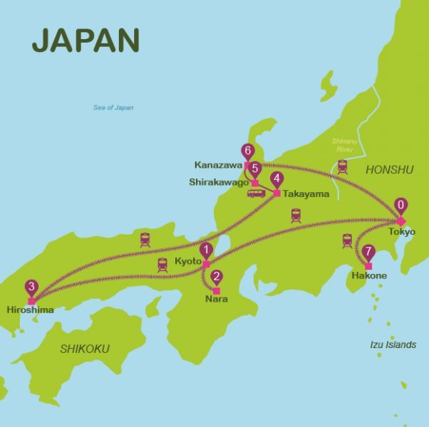 awesome Issues to do in Japan Journey itineraries Japan in 14 days - new world map showing tokyo japan