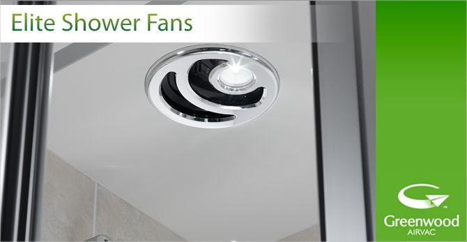 Greenwood Elite Shower Fans Shower Extractor Fan Extractor Fans Shower