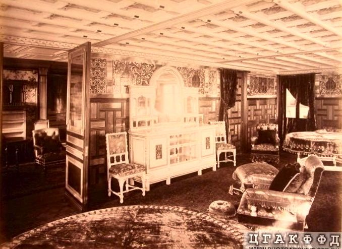 Miraculous Parlorroom On The Russian Imperial Yacht Livadia The Download Free Architecture Designs Scobabritishbridgeorg