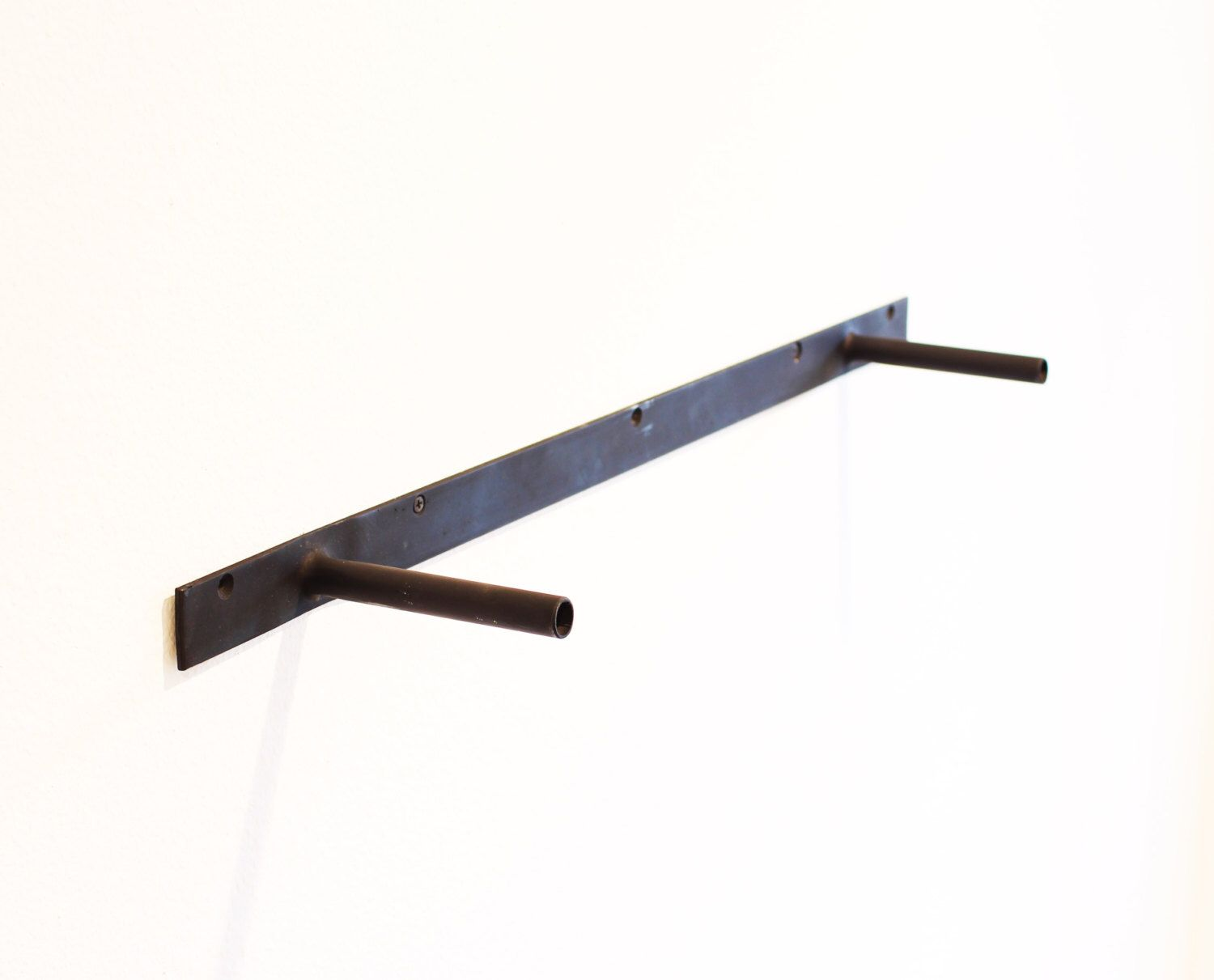 Floating Shelf Brackets Steel Heavy Duty Brackets From 10 To 78 Long Hardware Only Hidden Wall Shelf Bracket Made In Usa With Images Floating Shelf Brackets Ikea Floating Shelves