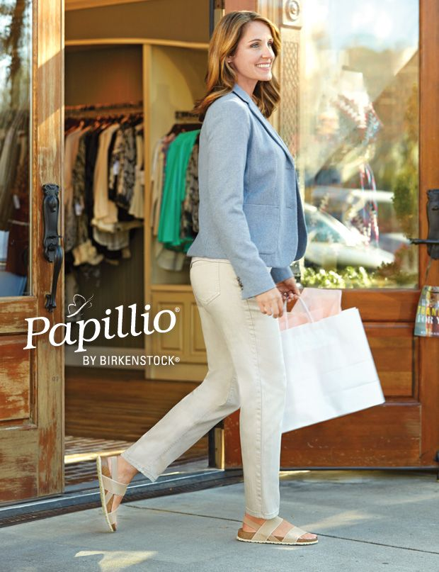 Introducing Papillio by Birkenstock: a new look from Birkenstock with the  comfort you expect.