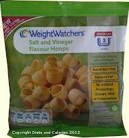 Weight Watchers Salt and Vinegar Flavour Hoops