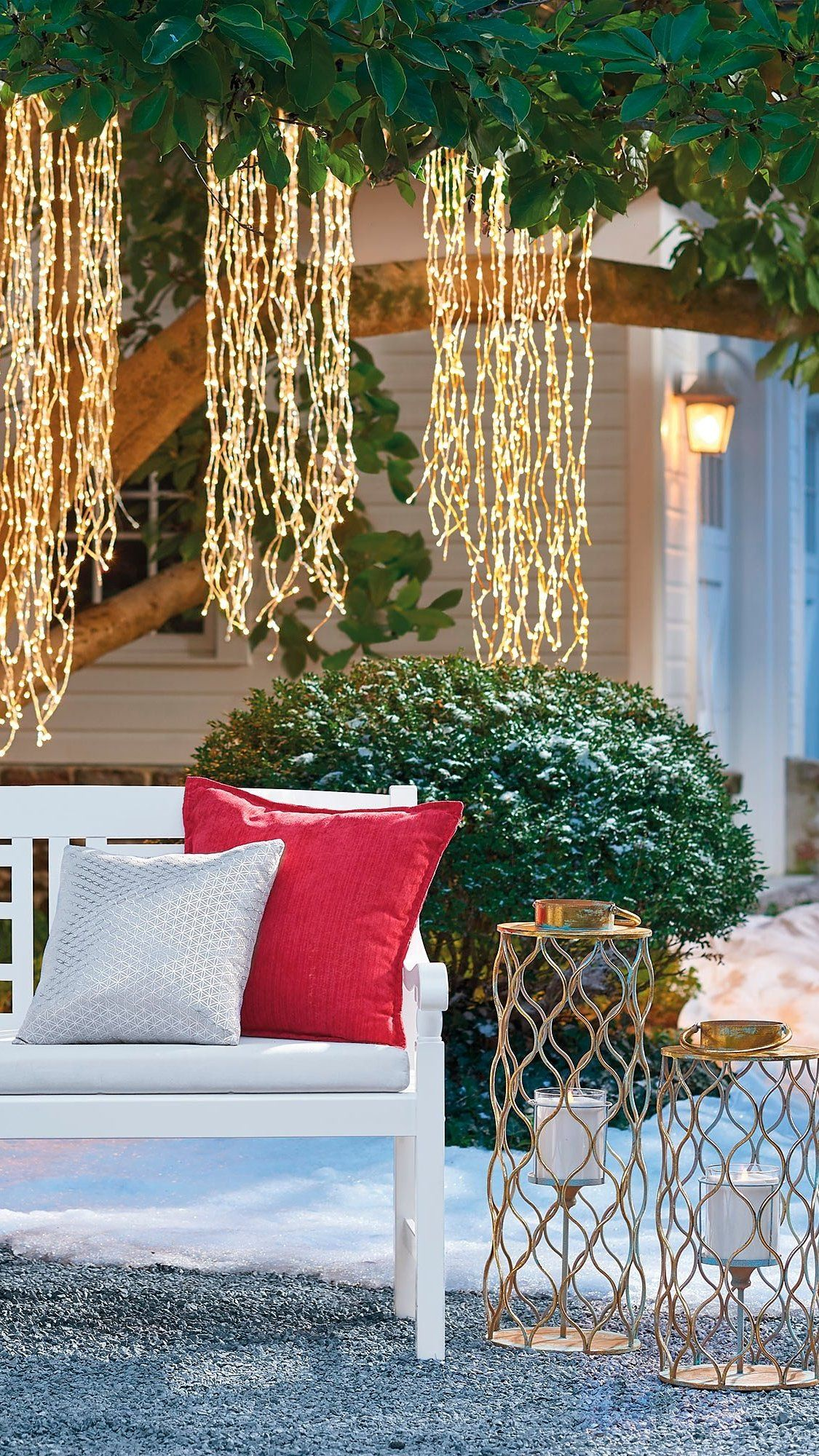 Weeping Willow Lights in 2019   Happy Holiday   White led