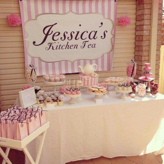 Decoracion Bridal Shower Ideas Kitchen Tea Parties Bridal