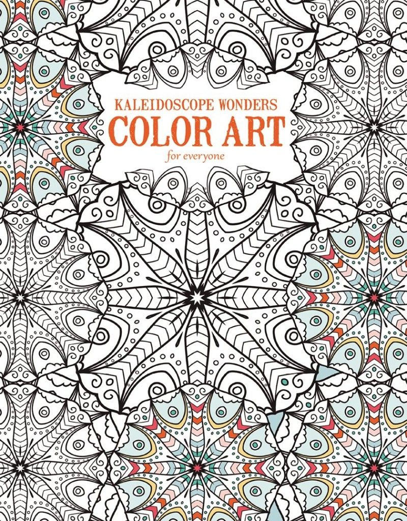 Kaleidoscope Wonders Color Art for Everyone from Leisure Arts ...