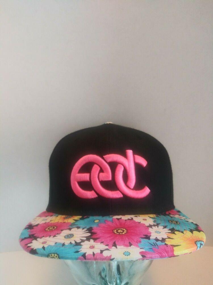 836c7b2ea4b0d EDC Snapback Hat Cap Insomniac Electric Daisy Carnival Limited Edition 2014  HTF  EDCINSOMNIAC  BaseballCap