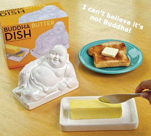 Buddha Butter Dish $19.99