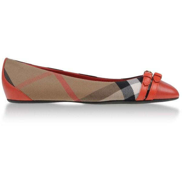 Burberry London Ballerinas & Flats ($175) ❤ liked on Polyvore