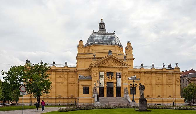 Artmuseum Croatia Travelguide Traveltips Backpacker The Art Pavilion In Zagreb Croatian Umjetnicki Paviljon U Zagrebu City Of Zagreb Zagreb Croatia