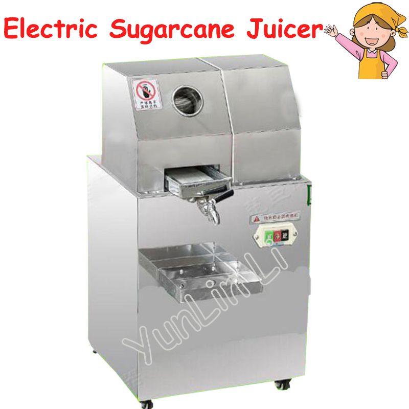 Electric Sugarcane Juicer Stainless Steel Desktop Sugarcane Juice Machine Cane Juice Squeezer Cane Crusher Sugar Juicer Sxc 80dc Juicer Cheap Juicer Sugarcane