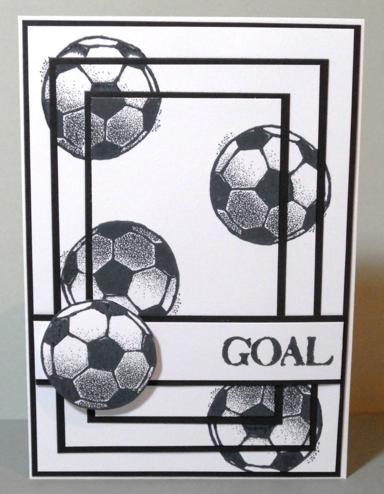 Добрым, открытка на тему футбол своими руками