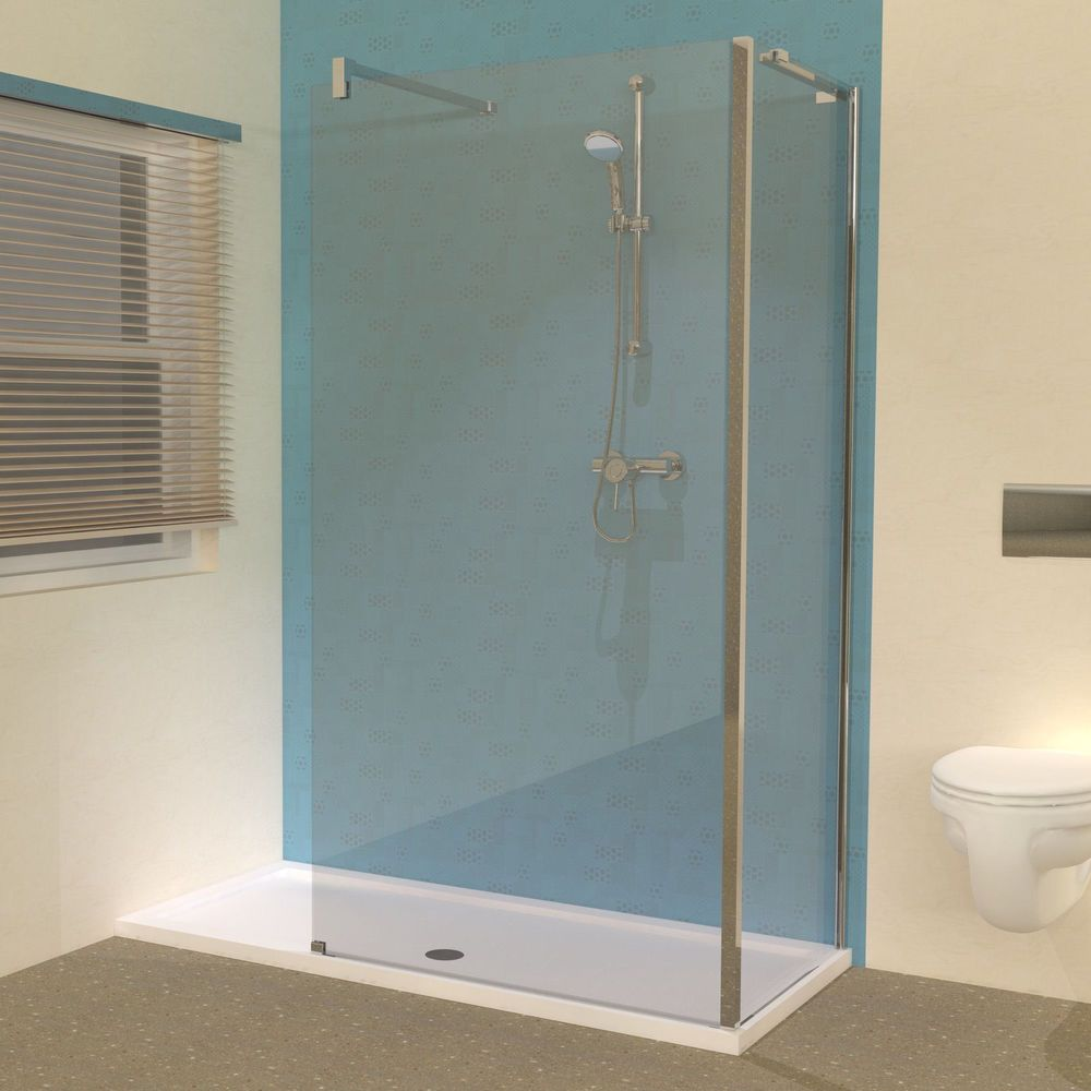 New Bathroom Ideas Line 1600 X 700 Shower Tray With Walk In Panels Enclosure With Images Walk In Shower Enclosures New Bathroom Ideas Shower Tray