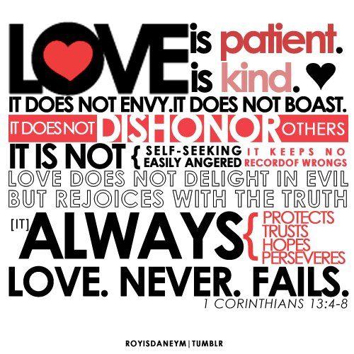 Love.Never.Fails      Faith Hope and Love