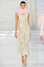 Ralph Lauren Spring 2012 RTW - Soft florals/feminine