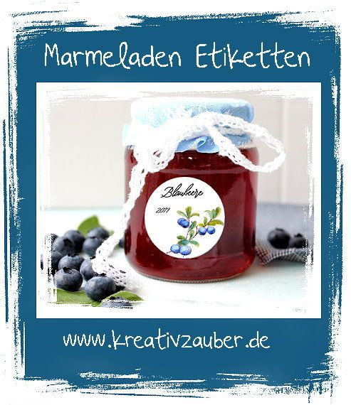 Aufkleber Für Die Küche Marmeladenaufkleber Etiketten