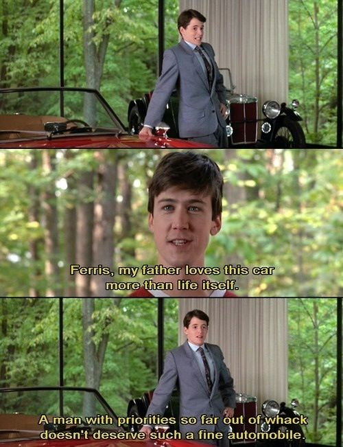 Ferris Bueller S Day Off With Images Movies Ferris Bueller S