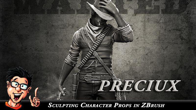 Digital-Tutors – Creative Development – Sculpting Character Props in ZBrush - Preciux