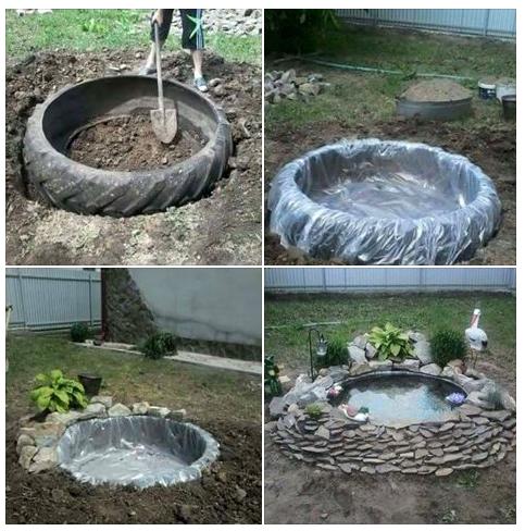 Estanque casero ideas e inventos estanque casero for Estanque para jardin casero