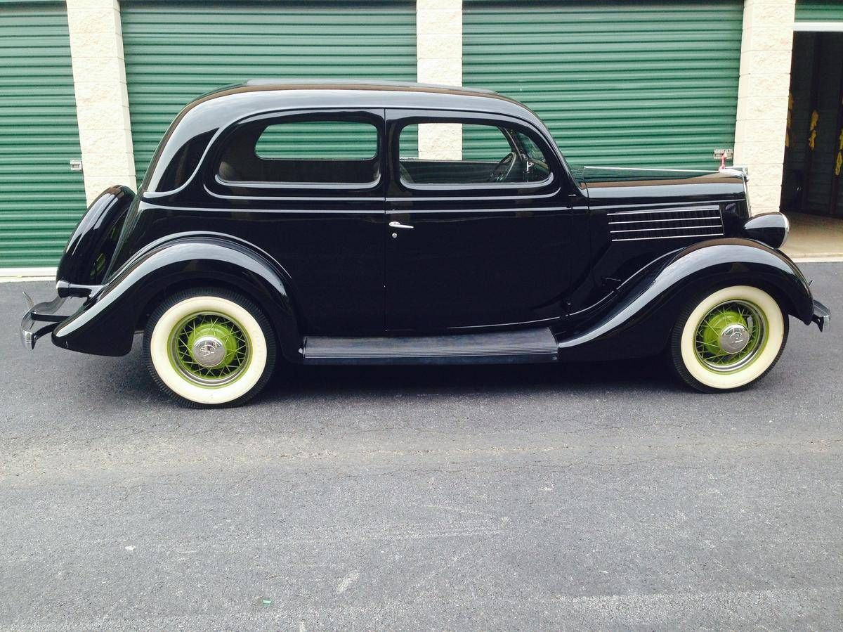 1935 Ford Model 48 Tudor Deluxe With Images Ford Models Ford