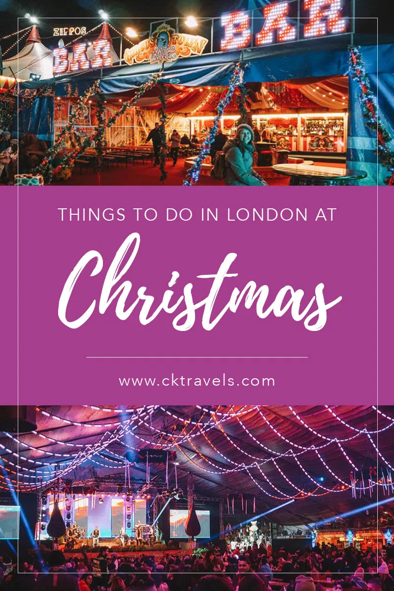 Christmas in London in 2019 festive ways to celebrate