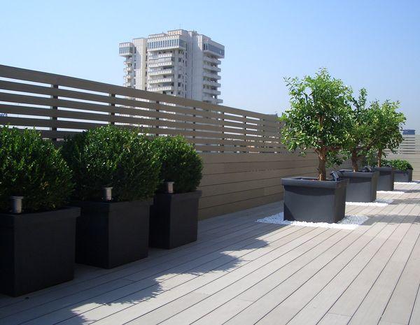 Lame composite pleine pour construire une terrasse en bois ...