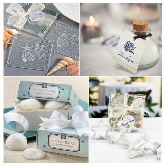 Bien connu decoration mariage mer cadeaux dessous verre sel savon emporte  DN41