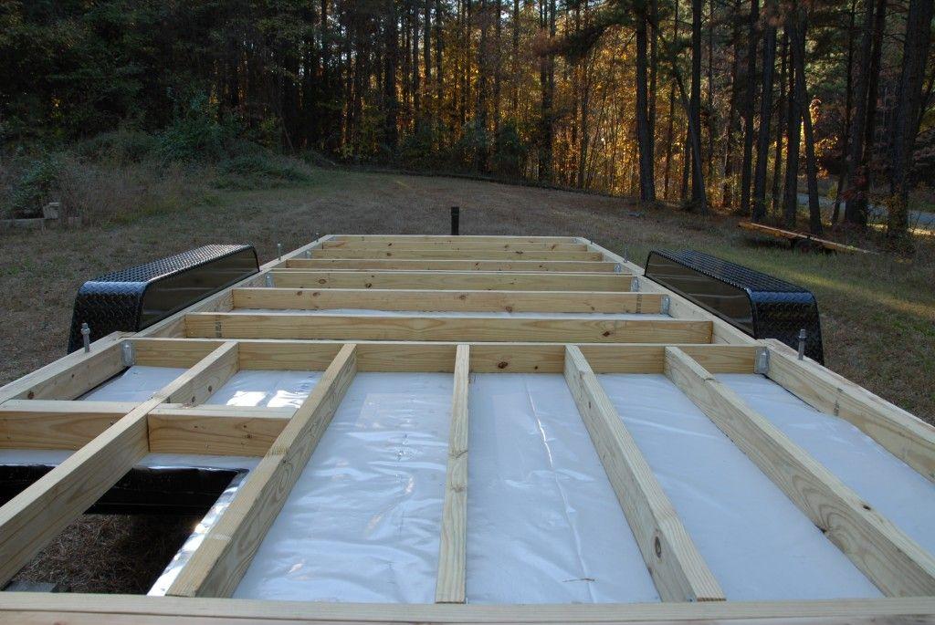 Insulating The Floors Part 1 Building A Tiny House