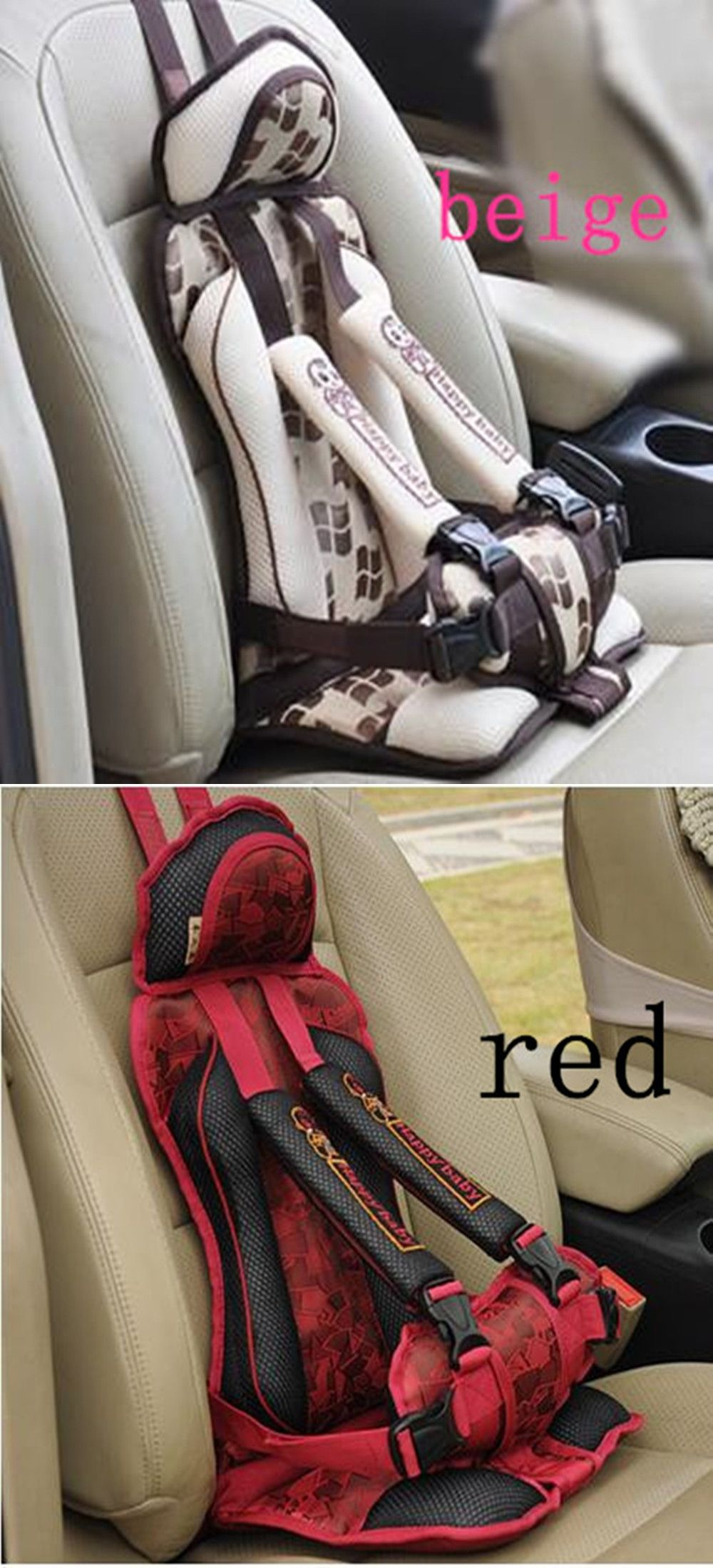 f0393de615f Portable Baby Safety Car Seat Kids Chairs In Car Babies Updated Version  Thickening Children Cotton Car