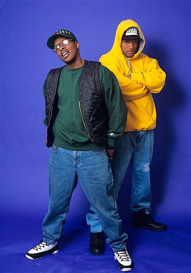 90's Club Kid — Will Smith and DJ Jazzy Jeff, 1995 | Fresh ...