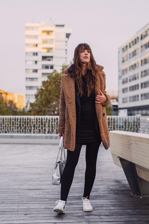 Nachhaltige Schuhe - mein Winteroutfit mit VEJA | Outfit ...