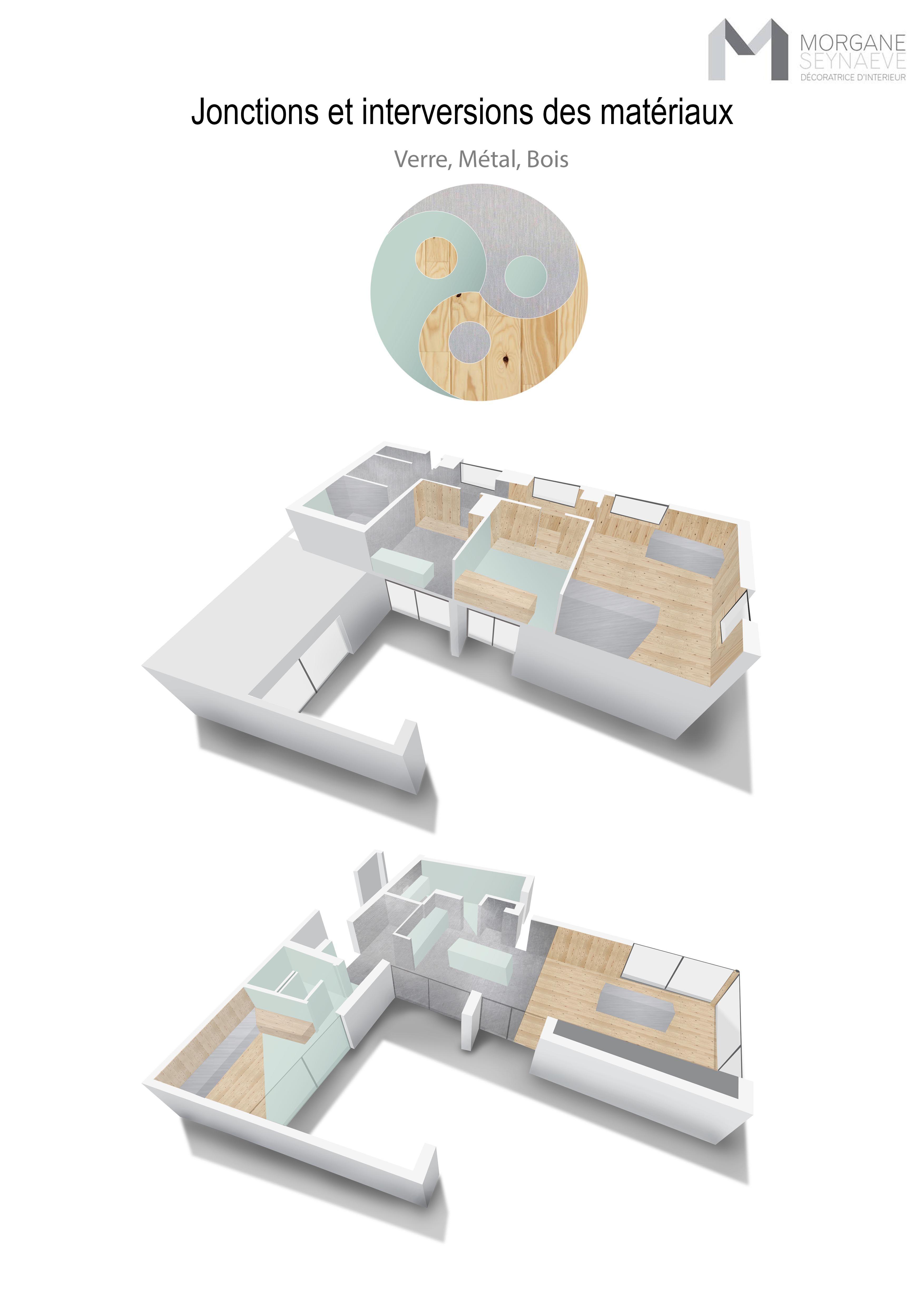 Architecture d\'intérieur: concept Villa Jonctions et interversions ...
